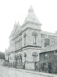 Kedleston Street Methodist chapel